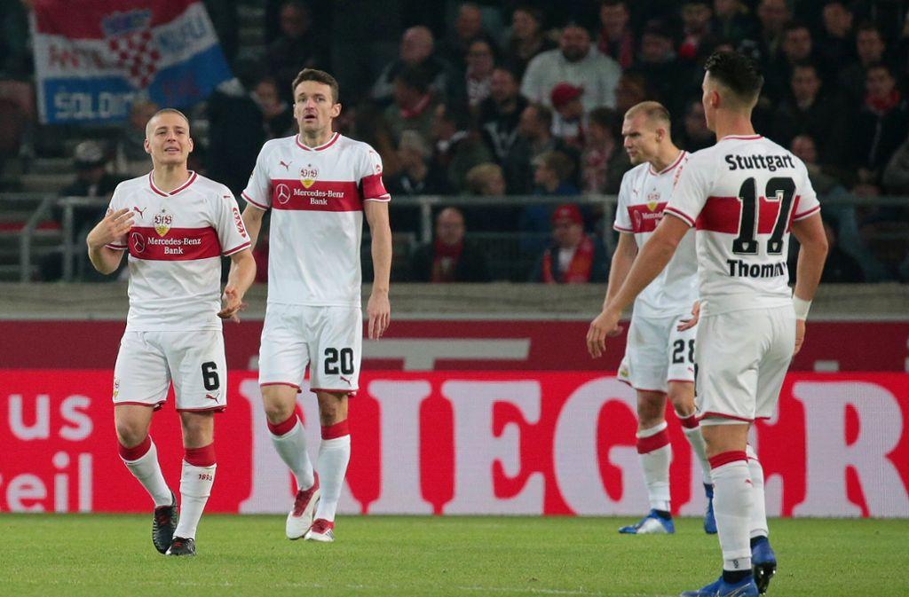 Der VfB Stuttgart hatte gegen Eintracht Frankfurt mit 0:3 das Nachsehen. Unsere Redaktion hat die Leistung der Spieler wie folgt bewertet. Foto: Pressefoto Baumann