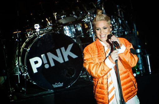 """Pink bekommt einen Stern auf dem """"Walk of Fame"""""""