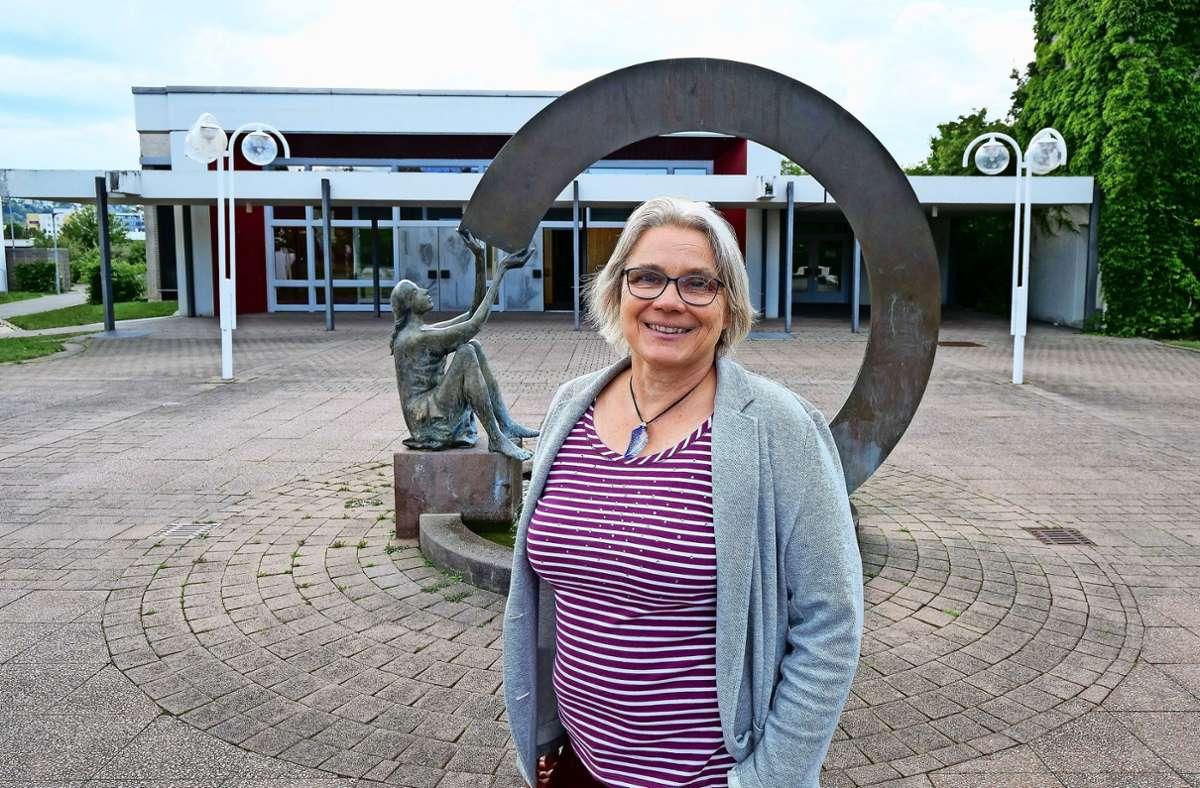 Elke Kaltenbach-Dorfi verlässt die Gemeinde Petrus und Lukas in Gerlingen. Foto: factum/Simon Granville
