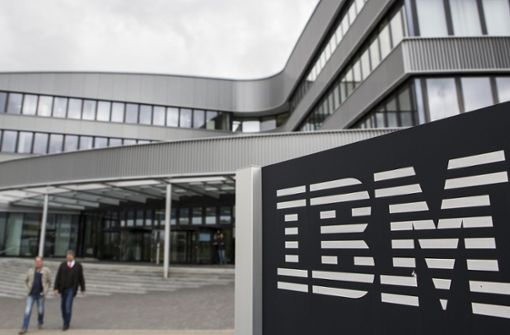 IBM-Beschäftigte machen  Druck
