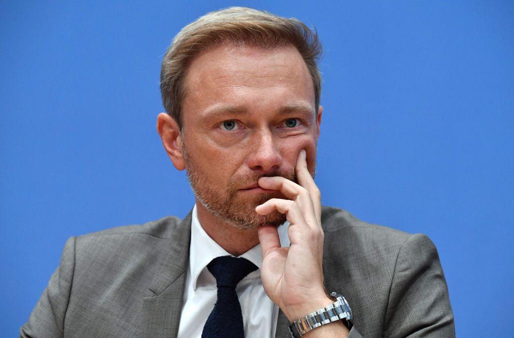 """Christian Lindner will den Krim-Konflikt """"einfrieren"""". Das sorgt für Unruhe in der Ukraine. Foto: AFP"""