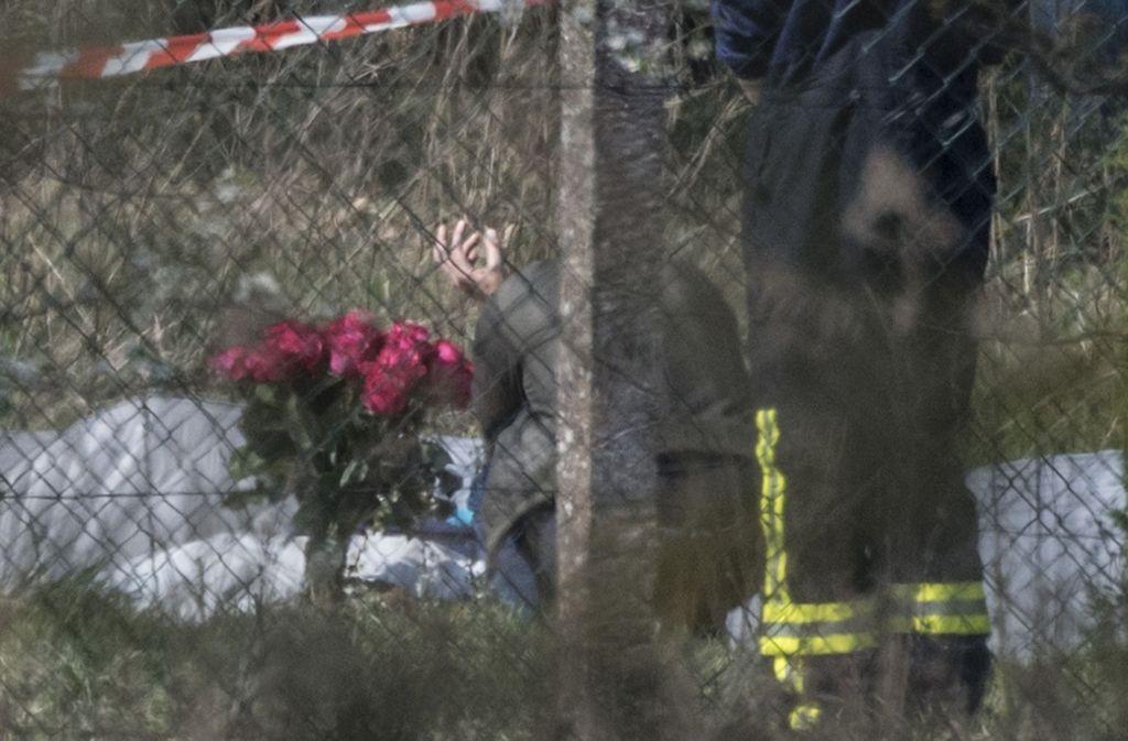Eine russische Multimillionärin soll bei dem Absturz in Hessen ums Leben gekommen sein. Foto: dpa
