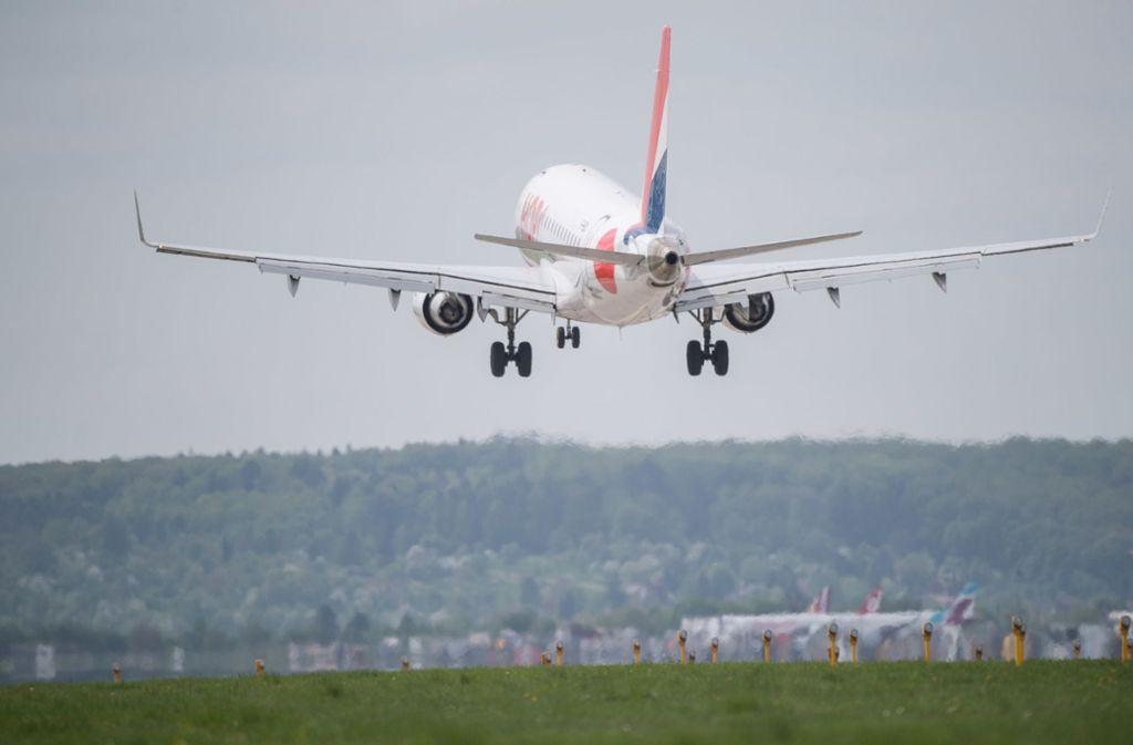 Stammte das Objekt aus einer Flugzeugtoilette? (Symbolbild) Foto: dpa
