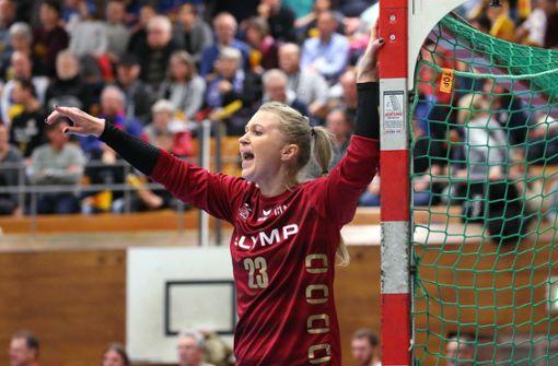 SG BBM Bietigheim verlängert mit Torhüterin Valentyna Salamakha