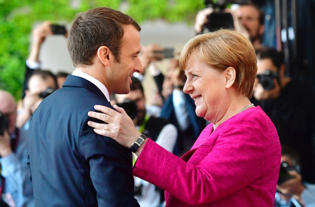 Herzliche Glückwünsche Foto: AFP
