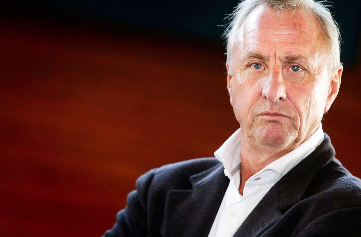 Johan Cruyff war nicht nur in seiner Heimat Niederlande ein Fußball-Idol, auf der ganzen Welt schätzten sie den Dribbelkünstler – der nie Weltmeister wurde. Foto: dpa/Ade Johnson