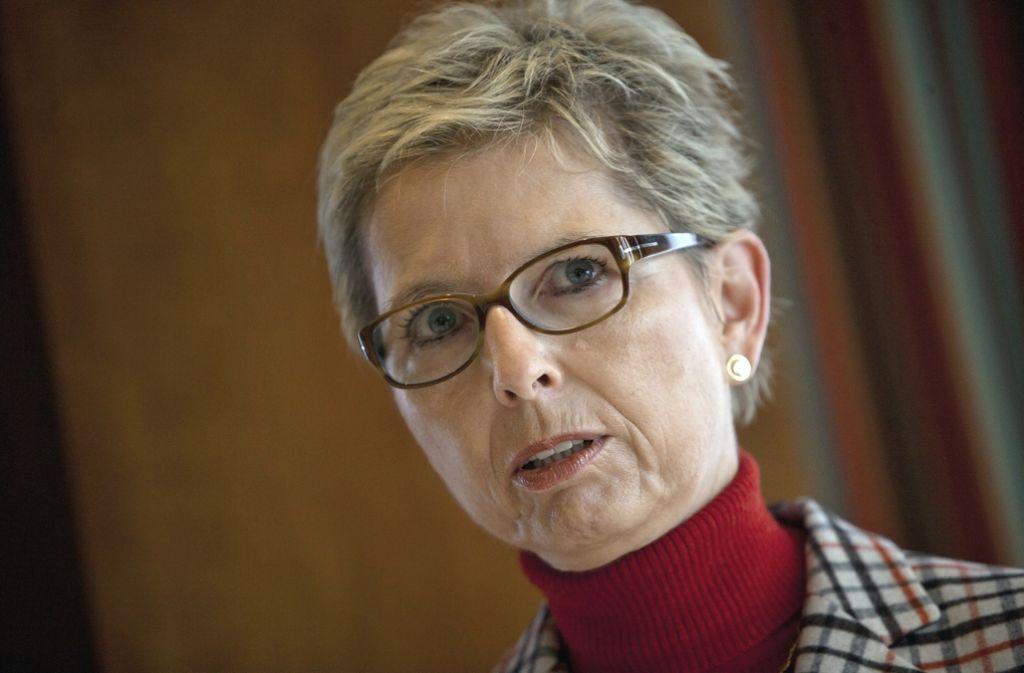 """Elisabeth Kauder ist seit 2011 Präsidentin von German Doctors (bis 2013 """"Ärzte für die Dritte Welt""""). Seit 1976 ist die Stuttgarter Medizinerin mit dem  Unionsfraktionschef  Volker Kauder (CDU) verheiratet. Foto: Steinert"""