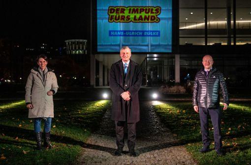 Darum darf die Fassade des Landtags nicht von Parteien genutzt werden