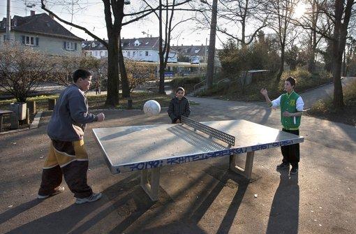 Ballspielplatz wird saniert