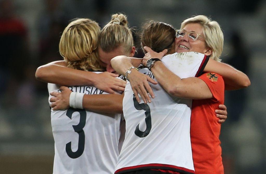 Für die deutschen Fußballerinnen geht es heute im Maracanã-Stadion um die Goldmedaille. Foto: AP