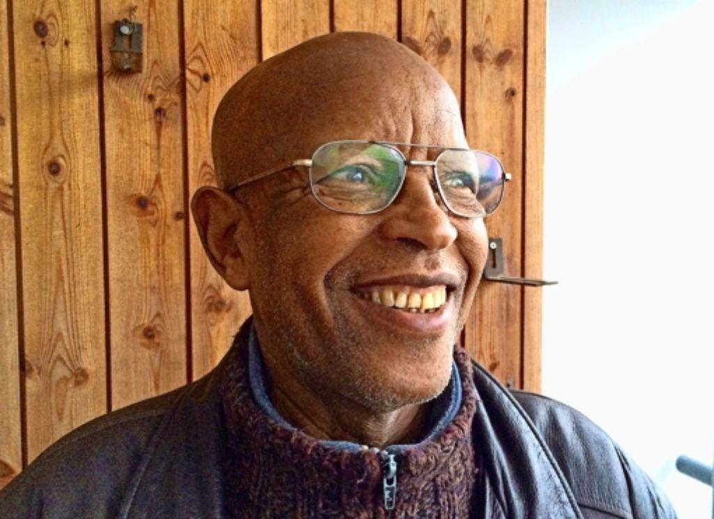 Mahamat  Saleh Tordjok lebt seit vielen Jahren im Asemwald. Seit  der Eröffnung des Asylheims Im Wolfer steht er den Flüchtlingen mit seinen Kenntnissen   der deutschen und arabischen Sprache und vielen Ratschlägen zur Seite. Foto: privat