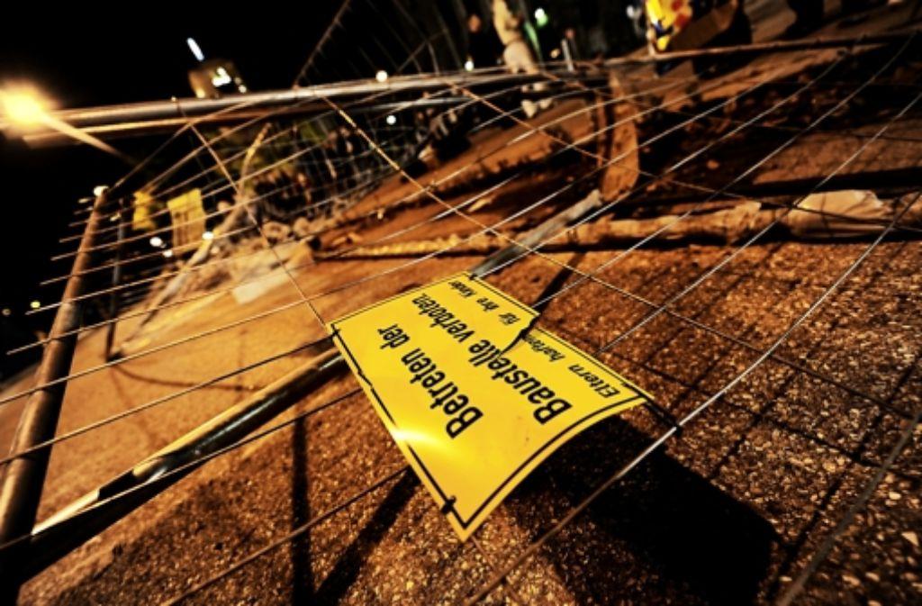 Auf der Baustelle ist ein Schaden in Höhe von rund 96000 Euro entstanden. Foto: dpa