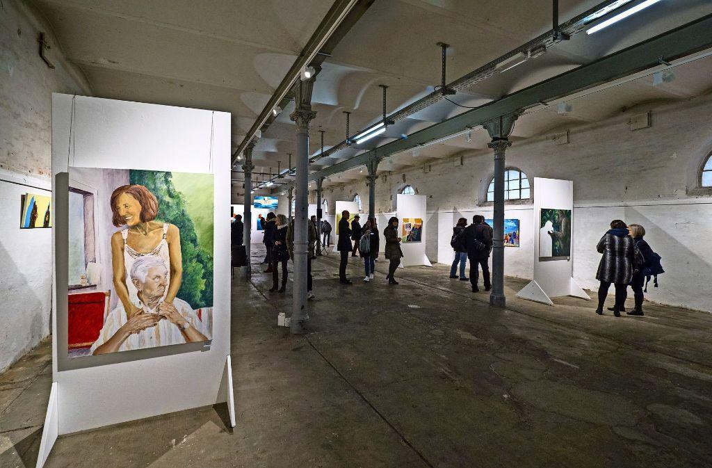 Vor allem Porträts sind in der Schau ausgestellt. Foto: factum/Weise