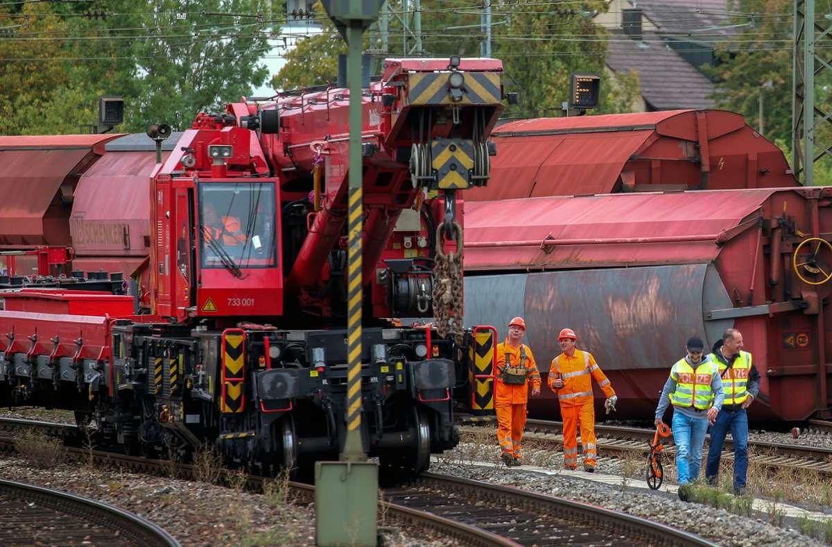 Die Ursache für den Unfall vor zwei Wochen ist noch nicht gefunden Foto: Martin Kalb