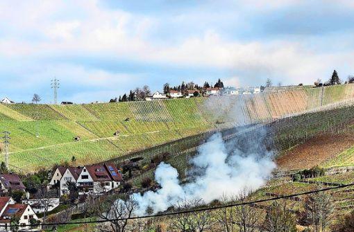Anwohner genervt von Gartenfeuern