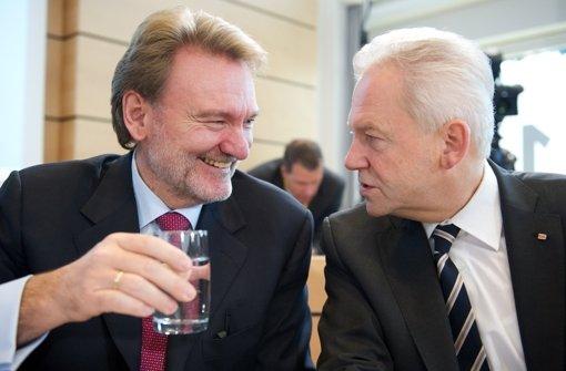 Müssen beim Verkehrsausschuss antreten: Volker Kefer und Rüdiger Grube. Foto: dpa