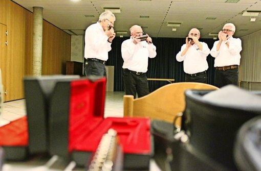 Musik hält die Rentnerband jung