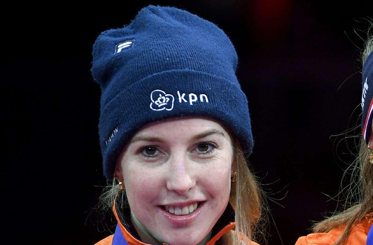 Die niederländische Shorttrack-Weltmeisterin Lara van Ruijven ist tot. Foto: dpa/Zsolt Czegledi