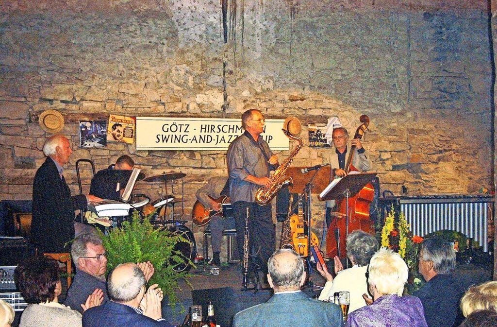 Ein Bild aus den Anfangsjahren des Jazz-Clubs.  Bald könnte  auch der Verein selbst Vergangenheit sein. Foto: Jazz-Club Köngen