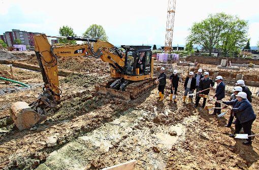 Boden für  neues Schulgebäude  ist bereitet