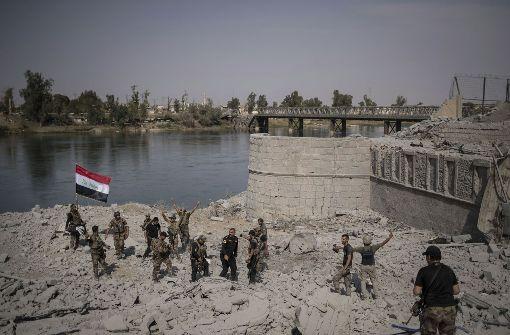 Streitkräfte unmittelbar vor Eroberung Mossuls