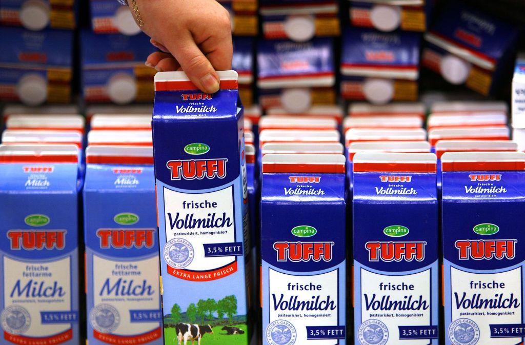 Laut Bundesumweltministerin Barbara Hendricks soll es kein Pfand auf Milch- und Saftkartons geben. Foto: dpa