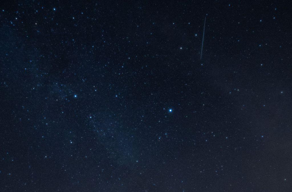 Die Lyriden haben jede Menge Sternschnuppen im Gepäck. Foto: dpa