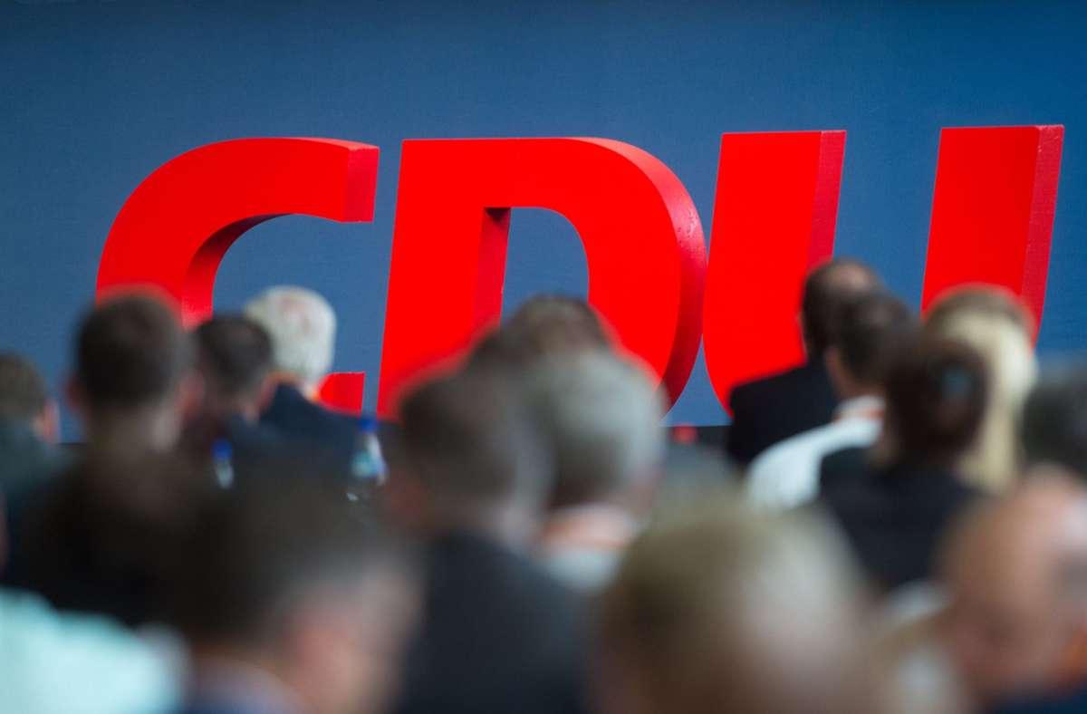 Der Parteitag der CDU in Stuttgart wird sich wahrscheinlich verschieben. Foto: dpa/Klaus-Dietmar Gabbert