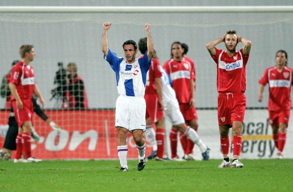 Der VfB-Pokalschreck hat einen Namen: FC Hansa Rostock. Foto: