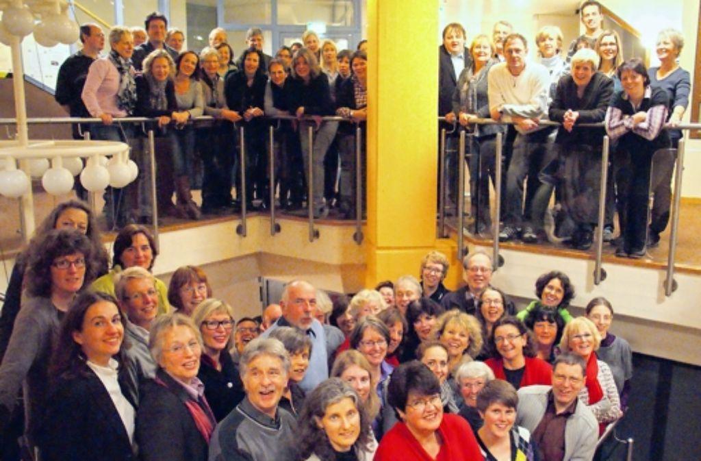 Der Chor vereint Vergnügen und Professionalität auf besondere Weise. Foto: Gabriele Metsker