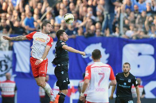Der TSV 1860 München freut sich über Remis in Regensburg