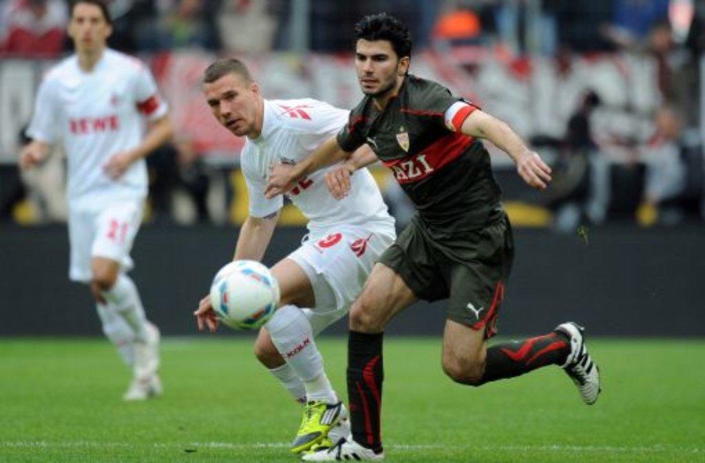 Gleich auf: Stuttgart und Köln trennen sich unentschieden Foto: dpa