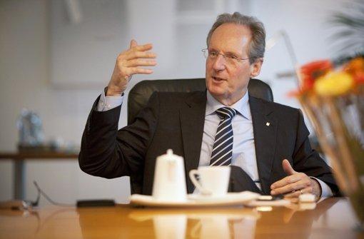 Offizielle Verabschiedung von OB Wolfgang Schuster