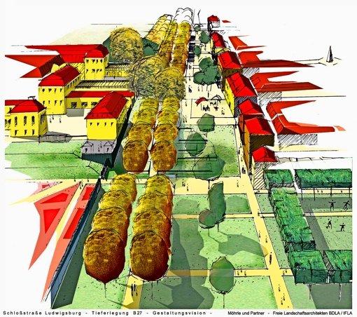 Tunnel und Gartenschau: schön, aber teuer