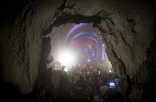 Erstes S-21-Tunnelstück erreicht die City