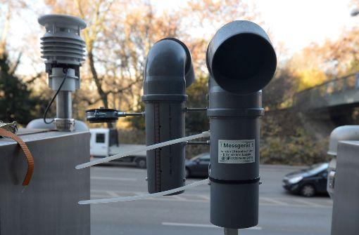 In Stuttgart herrscht wieder Feinstaubalarm