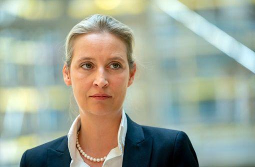AfD-Spitzenkandidatin will sich vorerst nicht impfen lassen