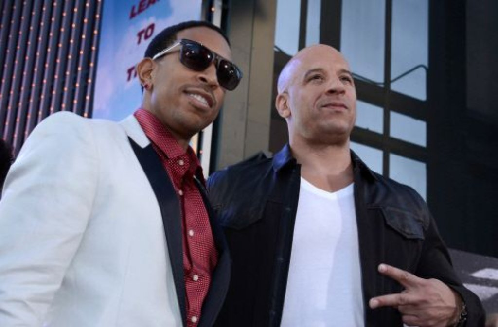 Ludacris und Vin Diesel Foto: dpa/AP