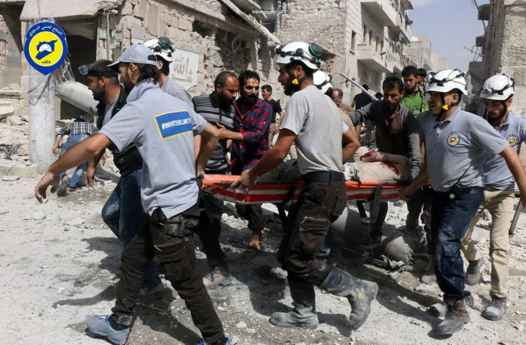 Aleppo wird seit Tagen von heftigen Luftangriffen gebeutelt. (Archivfoto) Foto: AP