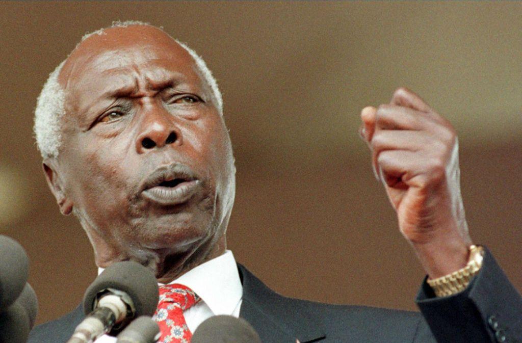 Daniel Arap Moi war zweieinhalb Jahrzehnte lang Staatschef von Kenia. Foto: AFP/ALEXANDER JOE