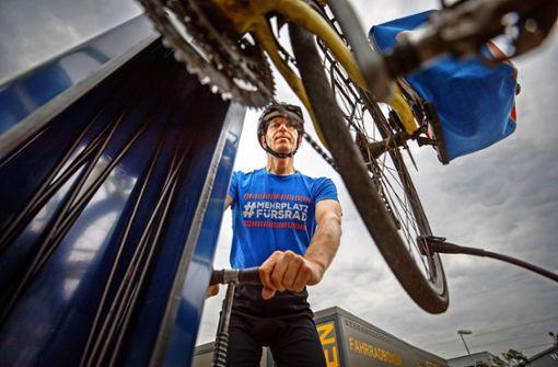 Freier Fahrrad-Service an 36 Stationen