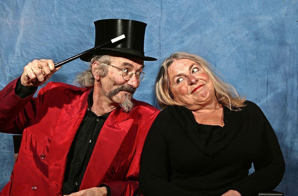 Frascatelli und Tre Face verwirren ihre Gäste in der Zaubermühle Merklingen. Foto: