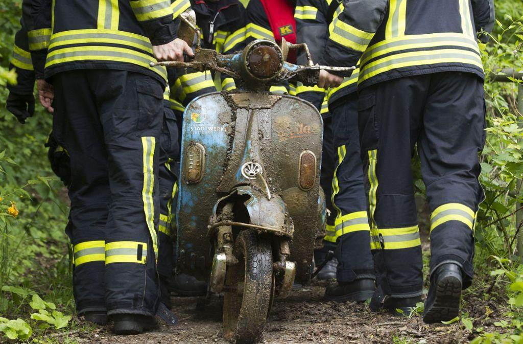 Von der Feuerwehr geborgen: Foto: Lichtgut/Leif Piechowski
