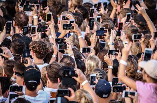 Kann die Generation Smartphone Konzerte nicht mehr feiern?