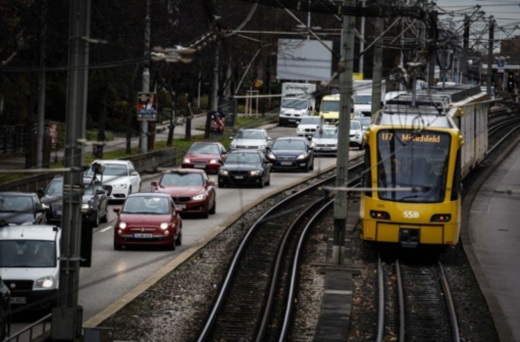 Unterbrechungen der SSB-Stadtbahnlinien  aufgrund Stuttgart 21 verärgern eine Stuttgarterin so sehr, dass sie nun eine Onlinepetition gestartet hat. Foto: Lichtgut/Leif Piechowski