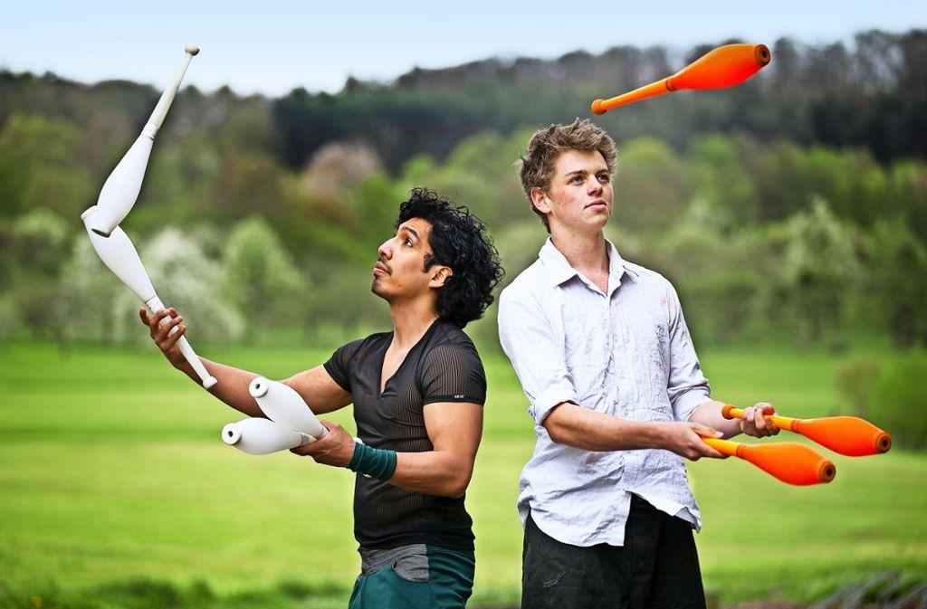 Voneinander zu lernen ist bei einer Jonglierconvention wichtig. Foto: Ines Rudel