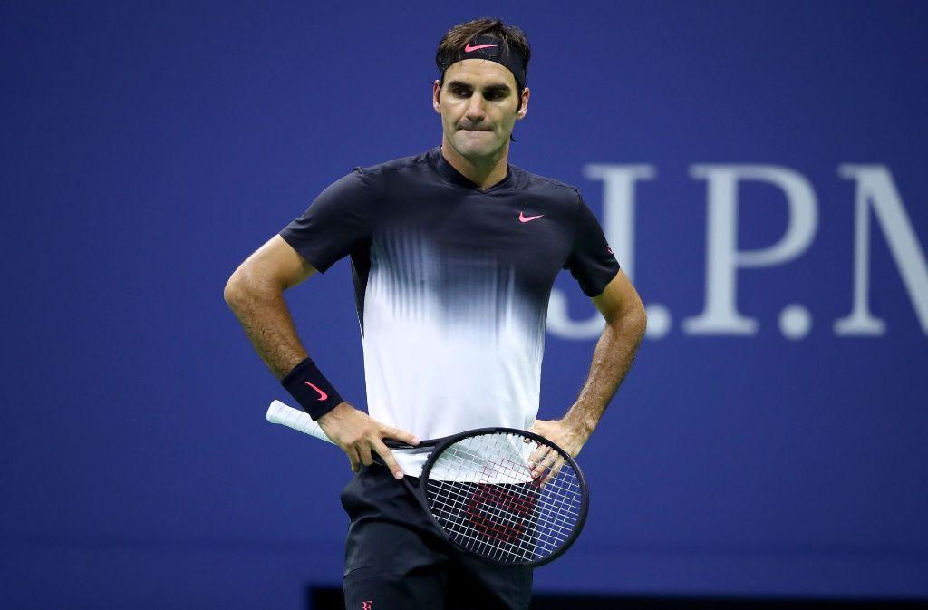 Roger Federer ist im Viertelfinale der US Open ausgeschieden. Foto: GETTY IMAGES NORTH AMERICA