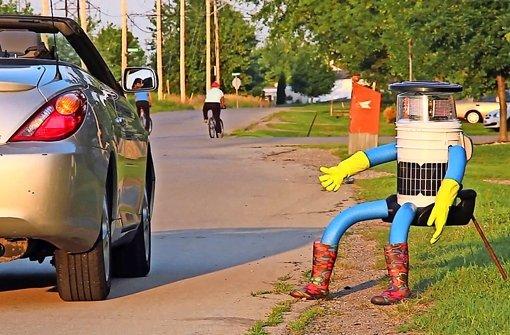 Der trampende Roboter