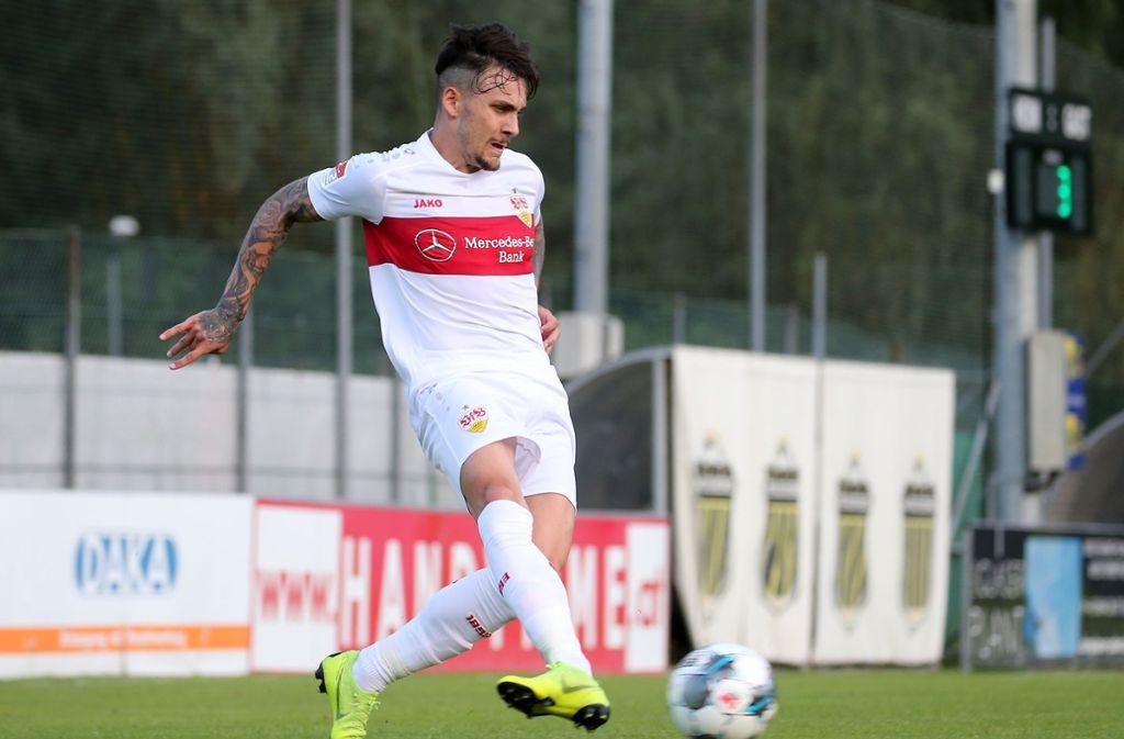Anastasios Donis soll bei Spartak Moskau anheuern. Foto: Pressefoto Baumann