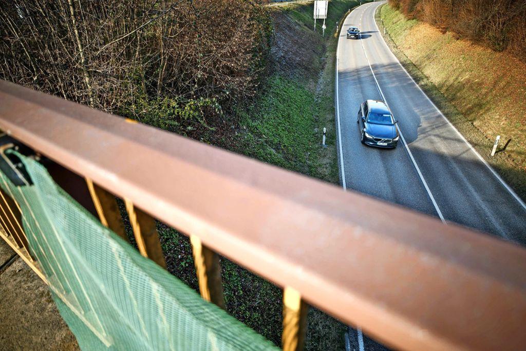 Wann wird der  Autobahnzubringer endlich   ausgebaut? Diese Frage kann derzeit niemand beantworten. Foto: Gottfried Stoppel